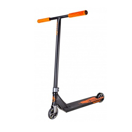 Triku skrejritenis Addict Complete Scooter Defender MK2 melns – oranžs
