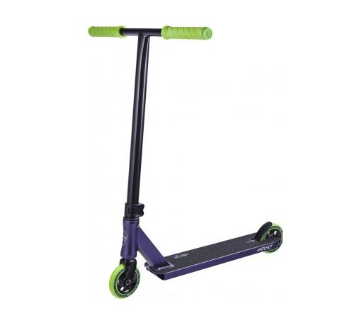 Triku skrejritenis North Hatchet 2020 Pro melns – lillā – zaļš