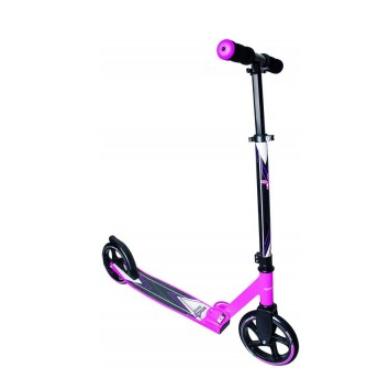 Muuwmi Aluminium Scooter skrejritenis 205 mm, rozā