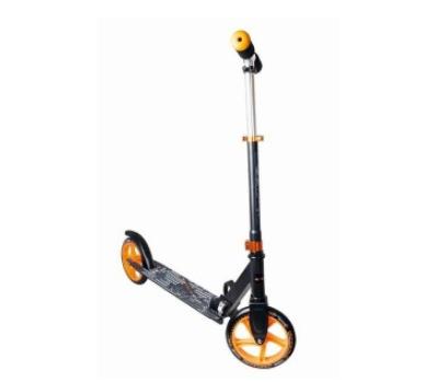 Muuwmi Aluminium Scooter skrejritenis 200 mm, melns/oranžs