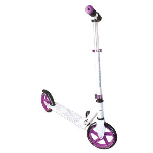 Muuwmi Aluminium Scooter skrejritenis 200 mm, balts/violets