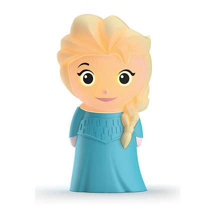 Philips Disney SoftPal Frozen-Elsa led nakts gaismiņa, ar baterijām