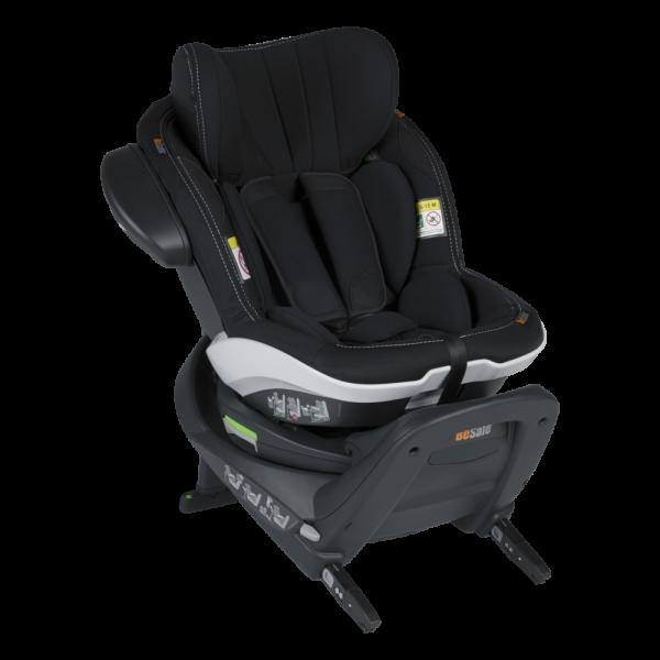 BeSafe autokrēsliņš iZi Turn i-Size Premium Car Interior Black
