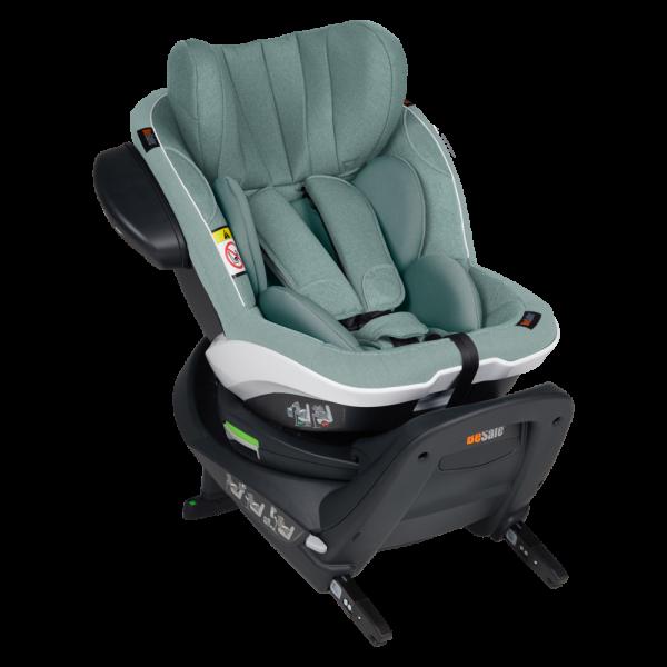 BeSafe autokrēsliņš iZi Twist i-Size Sea Green Melange